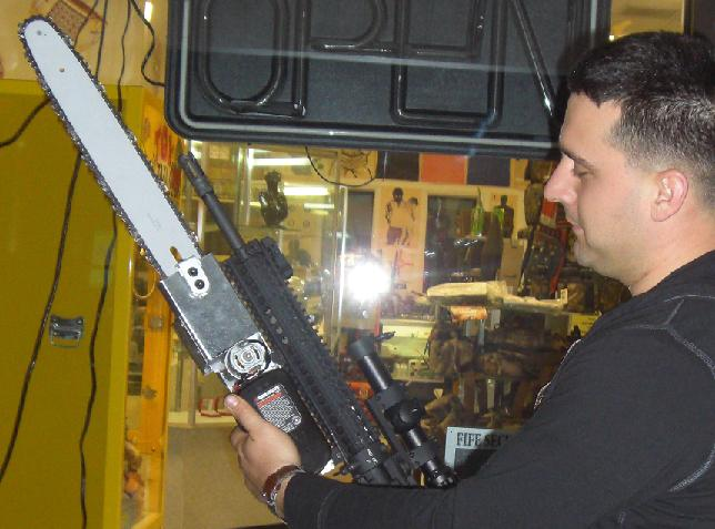 Chainsaw Bayonet