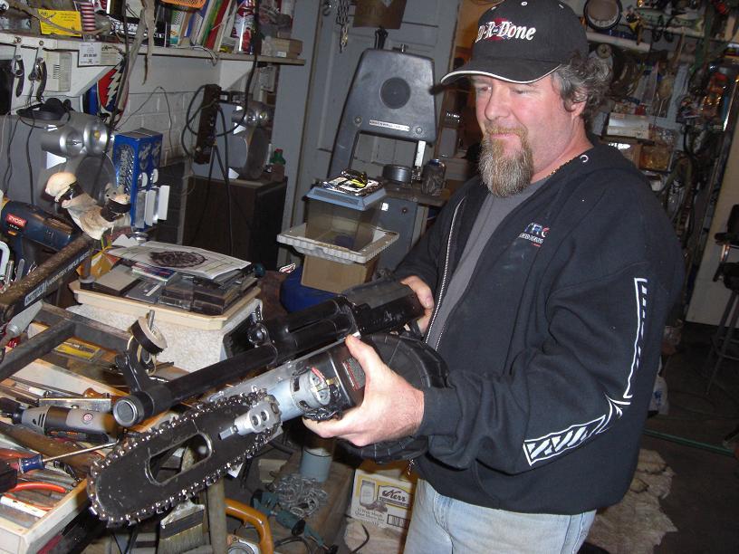 Chainsaw Bayonet