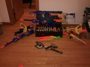 nerf guns for sale HvZ longshot stampede