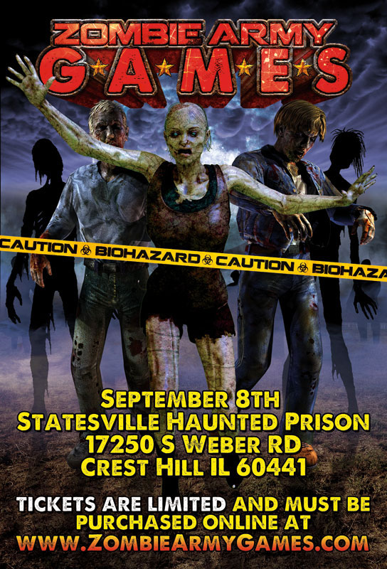 Chicagoland Zombie Army Games This Saturday Undead